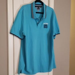 Tommy Hilfiger Teal Polo